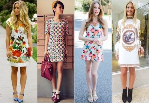 women in Mini Dresses