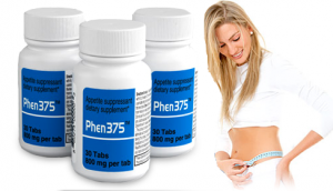 Phen 375 and female model